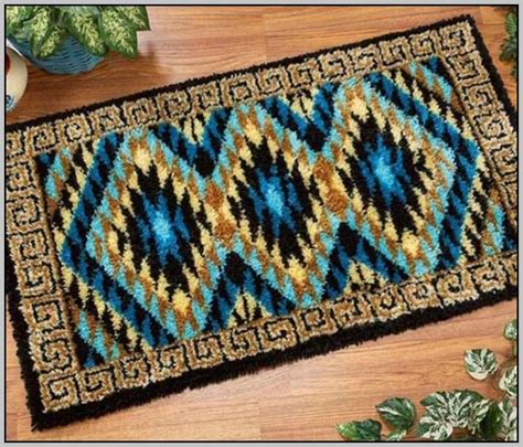 free latch hook rug patterns hook rug patterns free rugs ideas