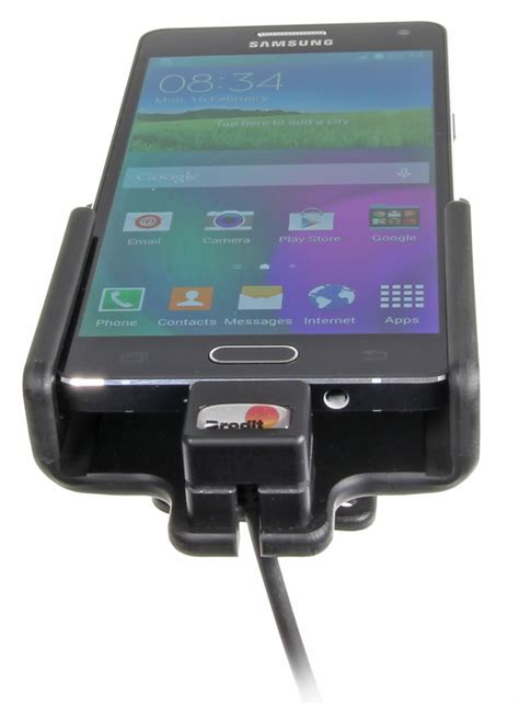 Samsung A5 Active brodit samsung galaxy a5 holder 521713 with usb cable and