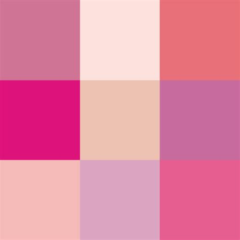 colors of pink file shades of pink png wikimedia commons