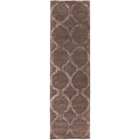 brown rug runner artistic weavers lainey light brown 2 ft 3 in x 10 ft indoor rug runner awub2146 2310
