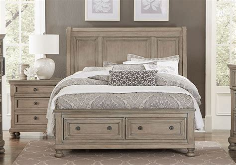 Bedroom Furniture Overstock Bethel King Storage Bedroom Set Evansville Overstock Warehouse