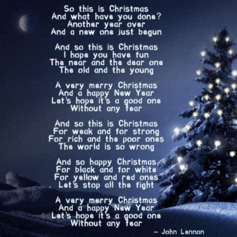 christmas john lennon lyrical quotes  favourites pinterest christmas