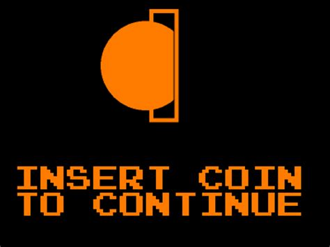 Kaos Pixel Insert Coin To Continue insert coins to continue gifs find on giphy