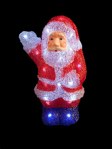light up reindeer outdoor light up acrylic santa snowman reindeer christmas outdoor