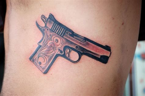 small gun tattoos gun images designs