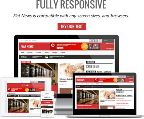 news magazine template flat news easy news magazine template free