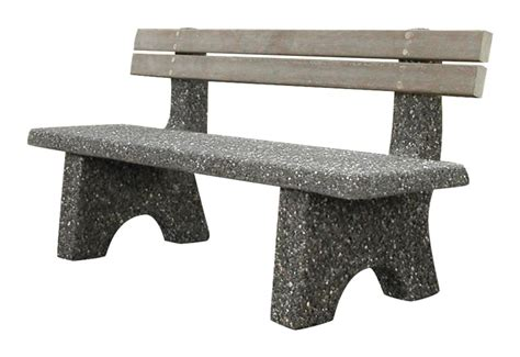 straight bench straight bench with back model sb 4 72bk ornamental stone