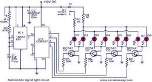 Car Signal Light Circuit Diagram Electronicscircuits