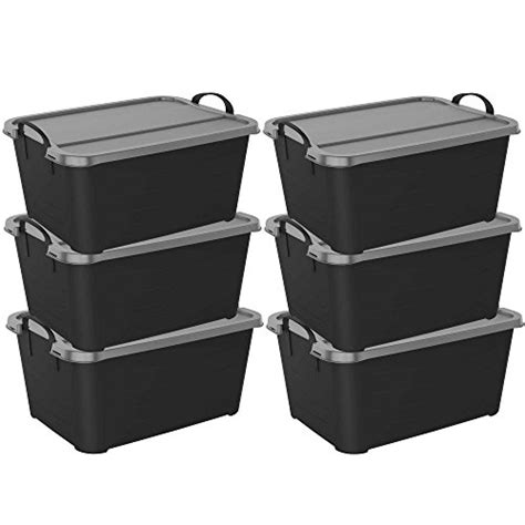 Box Makanan Container Makanan Ultra Pack storage tubs with lids sterilite 19889804 70 quart 66