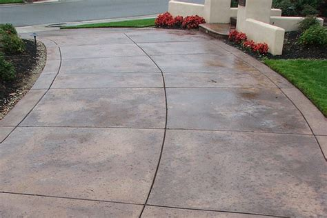 cement overlay patio concrete overlay driveway landscape project