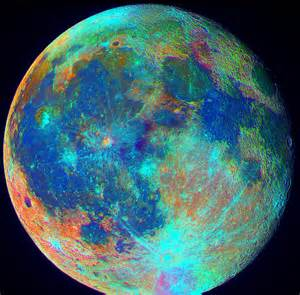 color of the moon lrgb drizzling l2rgb