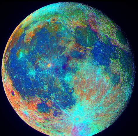 color of the moon different colors of moons pics about space
