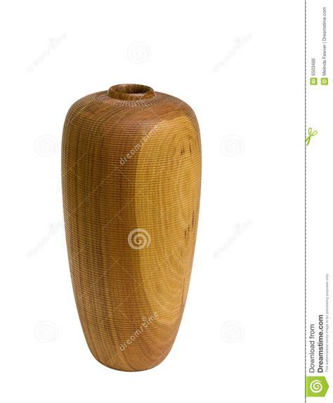 chemin en bois du vase w clipping image libre de droits