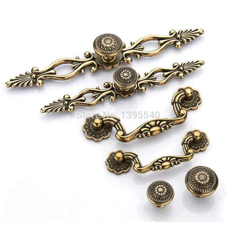 new 96mm antique cabinet kitchen handles knobs style