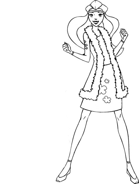 Totally Spies Coloring Pages Learn To Coloring Totally Spies Colouring Pages