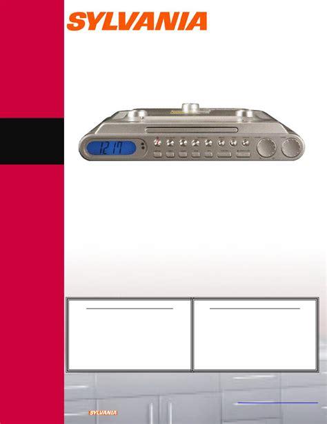 F R L A Silvania 06fr626bb sylvania clock radio skcr2601 user guide manualsonline