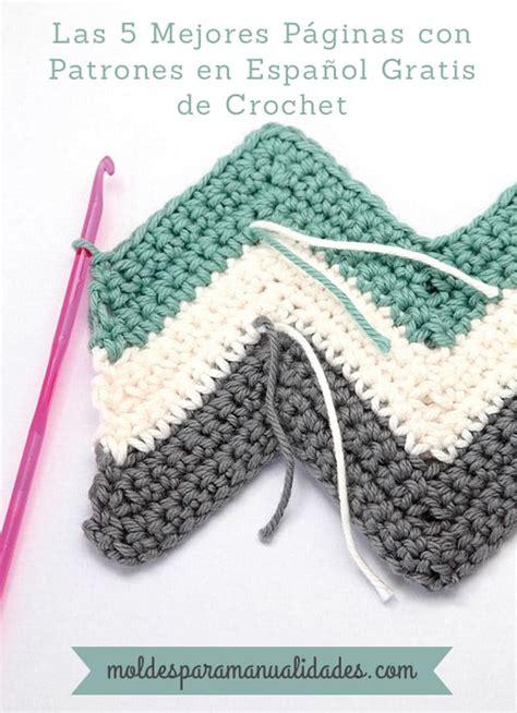 palabra pattern en espanol las 5 mejores p 225 ginas con patrones de crochet en espa 241 ol