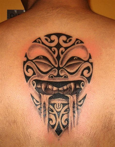 maori back tattoo face tattoo love