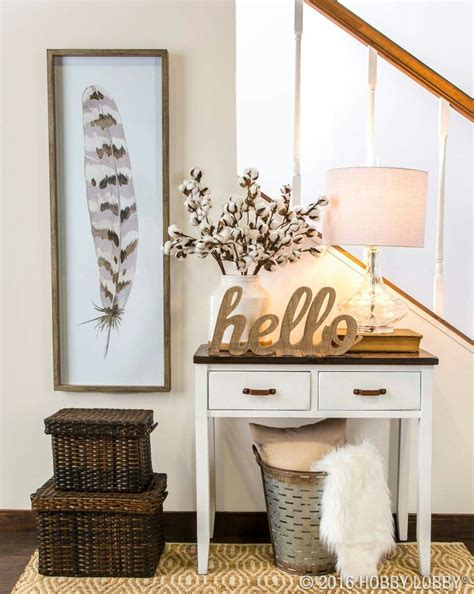 hobby lobby entry table hobby lobby entryway hob lob merch
