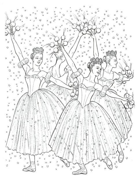 christmas ballerina coloring pages nutcracker coloring page coloring pages for young