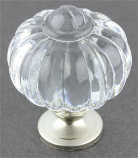 Clear Acrylic Knobs by Clear Acrylic Satin Nickel Knob 1 3 8 Quot