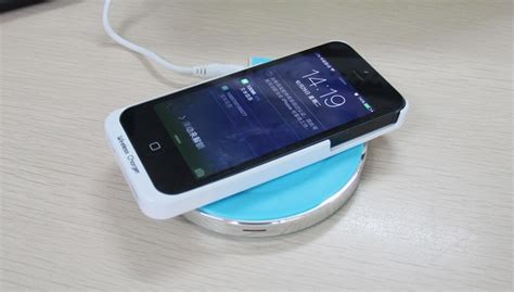 Charger Handphone Samsung noosy wireless charger receiver for iphone 5 5s se ns03 black jakartanotebook