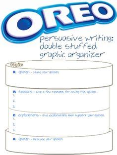 oreo template for persuasive writing 1000 images about staar on staar test