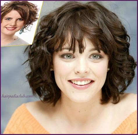 haircuts for curly thick hair and round faces layered short haircuts for curly hair and round faces