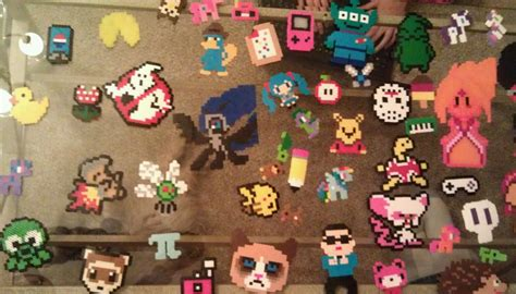 how to make out of perler things i ve made out of perler by ladyrainicorn19 on