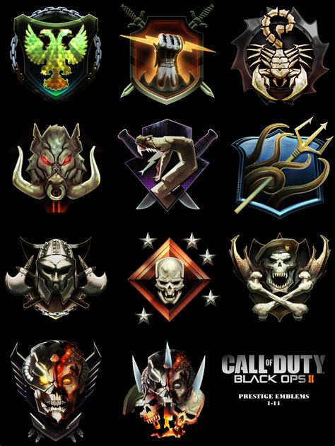 Call Of Duty Black Ops 2 Prestige | i hope the prestige emblems are colorful again codaw