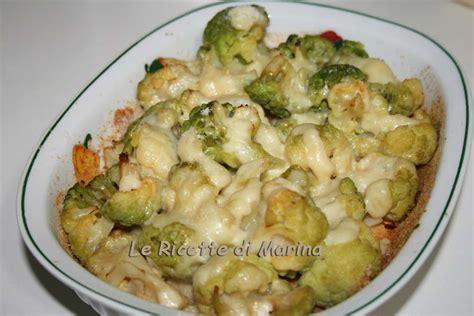 cucinare broccolo verde cavolo verde al forno le ricette di marina