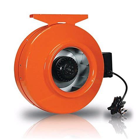 8 inline duct fan growbright high velocity 8 inch inline duct fan