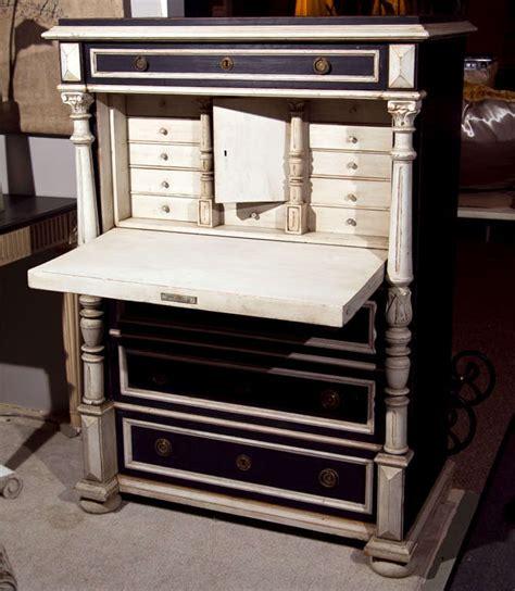 swedish gustavian style secretary drop front desk for sale