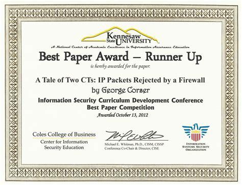 George Corser, PhD   Resume