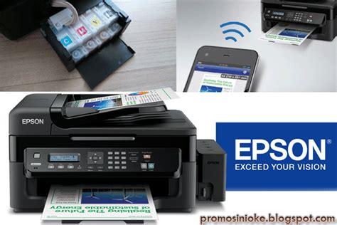 Printer Foto Termurah dijual epson l550 all in one hitam harga termurah promosi nioke