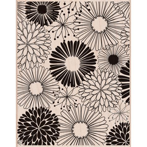 floral rubber st arts mounted rubber sts everything flowers jo