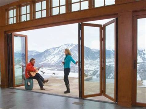 Foldable Sliding Door Exterior Sliding Glass Doors Exterior Doors With Screens And Windows