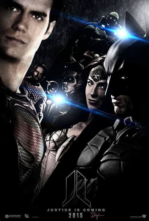 justice league upcoming film justice league 2015 movie poster movie posters