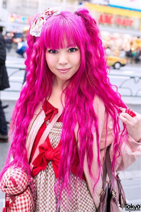 pink photos hair 2013 pink hair pink house teddy bear vivienne westwood in