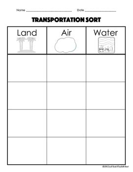 transportation pattern worksheet freebie transportation cut and paste activity by a