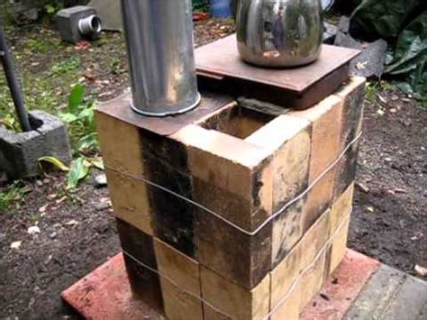 rocket stove ideas 33 brick box rocket stove