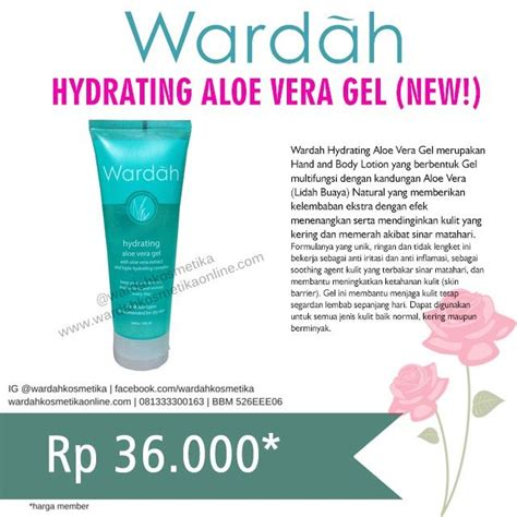 Harga Hydrating Aloe Vera Gel Dari Wardah 5 hacks wardah ala vlogger yang gang di aplikasikan