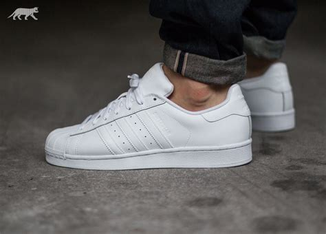 Adidas Superstar All White adidas superstar foundation ftwr white ftwr white