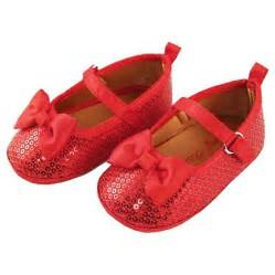Crib Shoes Baby by Baby Rising Bow Ballerina Flat Crib Shoes