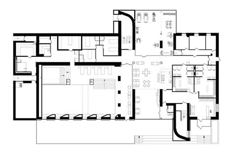 floor plan for spa spa in relax park verholy yod studio archdaily