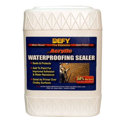 Acrylic Waterproofing Sealer   Interior Brick Sealer