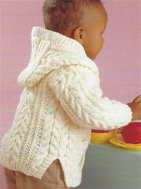 baby aran knitting patterns uk knitting pattern baby aran cardigan childrens jacket cable 0 8