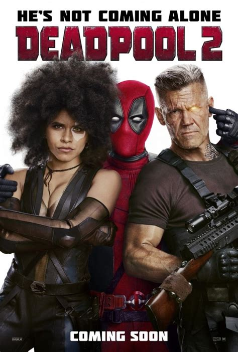 deadpool 2 poster deadpool 2 release date trailer cast story and more