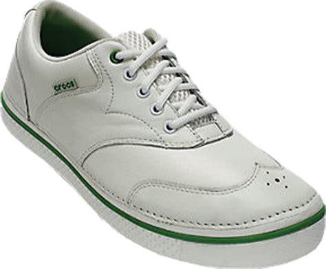 crocs white parrot green drayden mens shoes sneaker cabinet