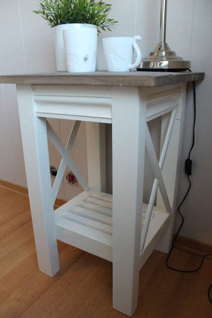 Diy Bedroom End Table Best 25 Diy End Tables Ideas On Farmhouse End